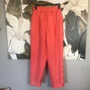 100% Silk Vintage Joggers